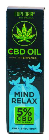 Mind Relax CBD-Öl 5%