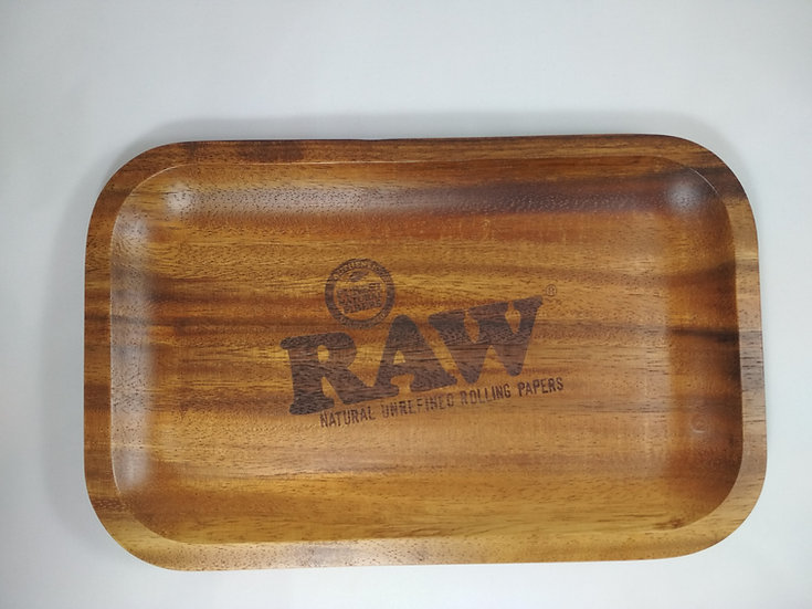 Raw Rolling Tray aus Holz