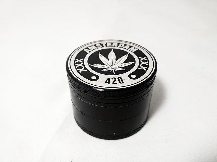 420 Grinder Schwarz