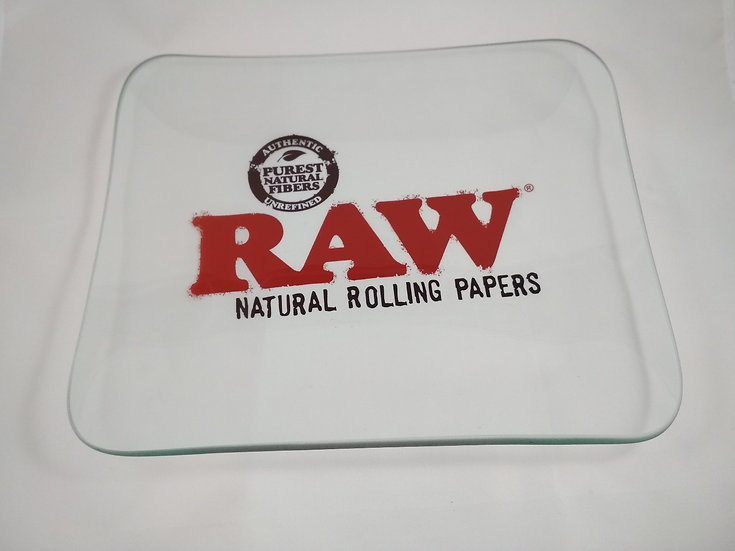 Raw Rolling Tray aus Glas
