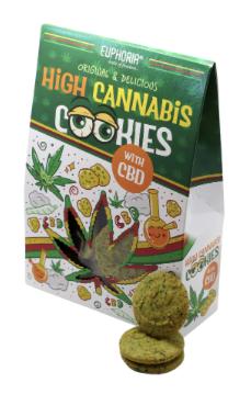 Cannabis Cookies mit CBD