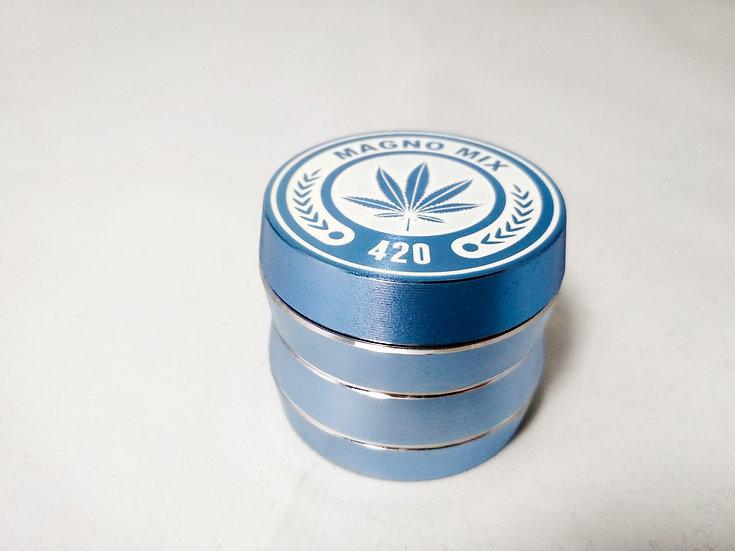 420 Grinder Blau