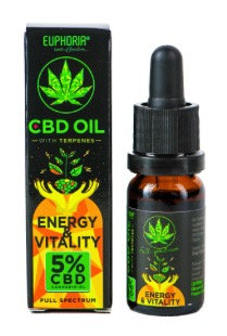 Energy & Vitality CBD-Öl 5%