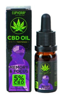 Memory & Focus CBD-Öl 5%