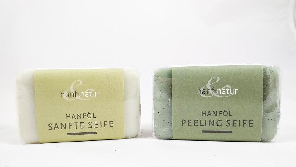Hanföl sanfte Seife / Peeling Seife