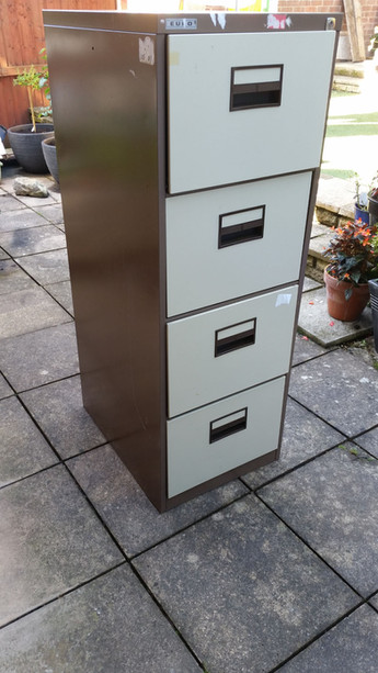 Turn a Filing Cabinet into a Beautiful Planter by Claire our Administrator