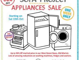 October Appliances Sale