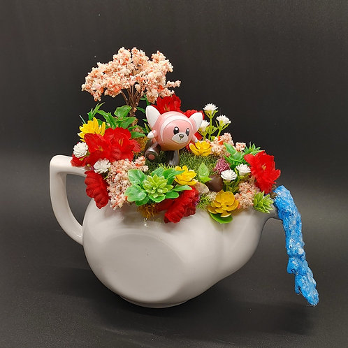 Stuffle Teapot Terrarium