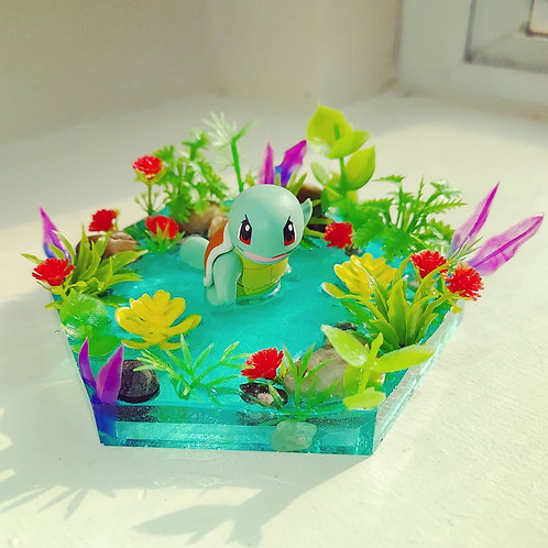 Squirtle Resin Tray