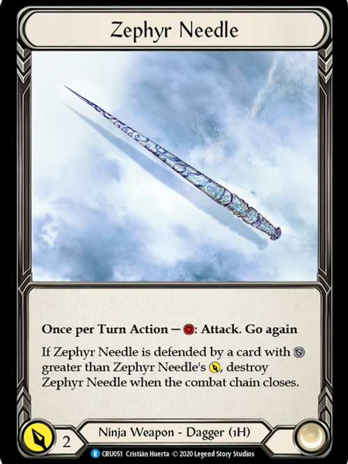 Zephyr Needle
