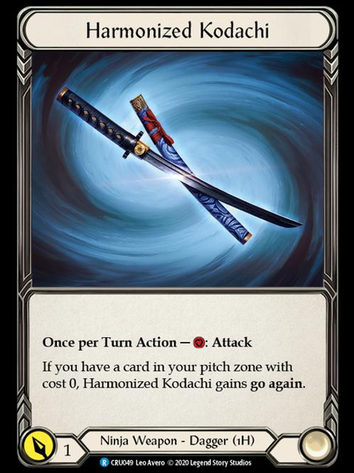 Harmonized Kodachi (Reserved)