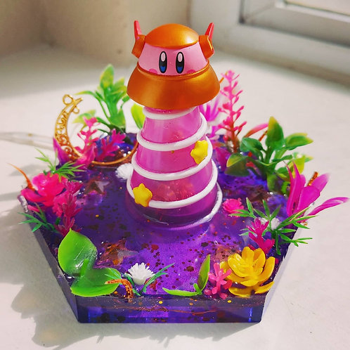 Space Ship Kirby Resin Tray