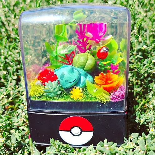 Mini Bulbasaur Terrarium