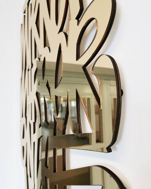 Close up Toshy Mirror