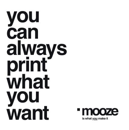text concept mooze copywriting