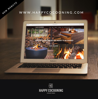 Happy Cocooning website