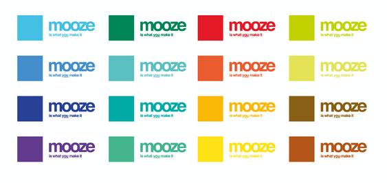 mooze logo design