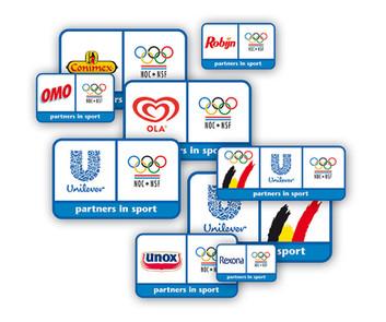 identity unilever olympics logo