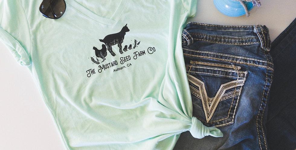 The Mustard Seed Farm Co. T-Shirt- Mint