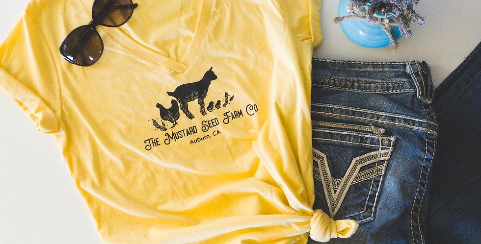 The Mustard Seed Farm Co. T-Shirt- Mustard