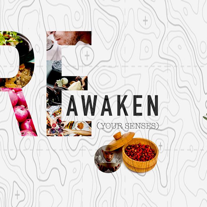 "Client.Mira Peruvian Restaurant.   My Role:  Concept Creator.  Art Director.  Presentation Deck.""  Re Awaken Your Senses"""