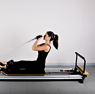 Pilates integrates breath, concentration, center, control, precision and flow.