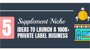 5 Best Niches to Launch a 100K+ Private Label Supplement Business