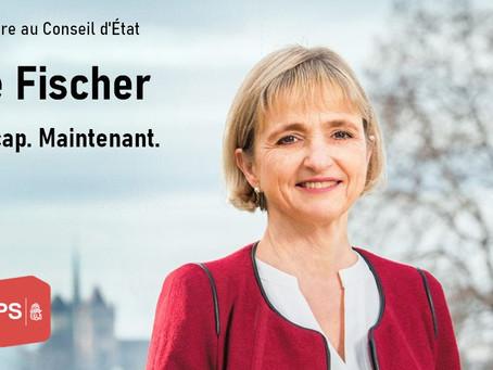 Fabienne Fischer au Conseil d'État