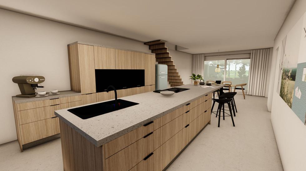 verbouwing keuken en woonkamer