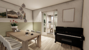 woonkamer & keuken
