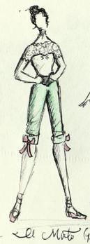 """Pageboy"" Costume"