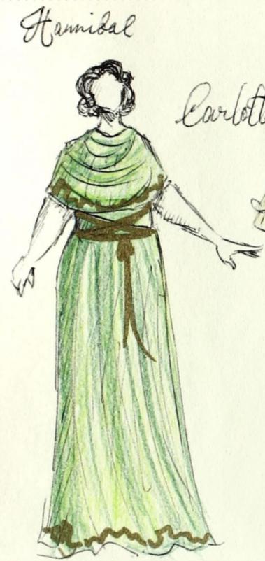 """Hannibal"" Carlotta Costume"