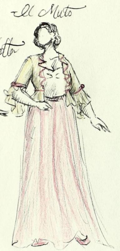 """Countess"" Carlotta Costume"