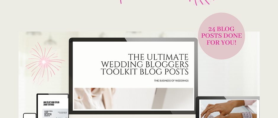 The Ultimate Wedding Blogger Toolkit Offer