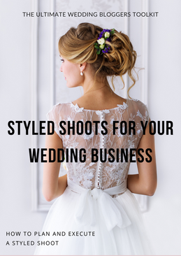 Styled Shoots for your Wedding Business.