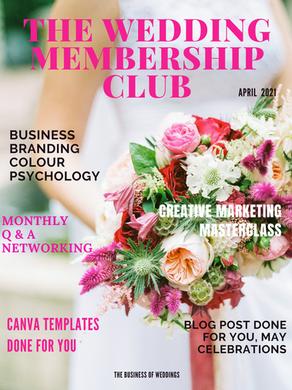 April's Wedding Membership Club is live