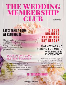 February 2021 The Wedding Membership Clu