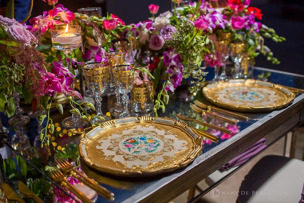 Luxury table setting Marbella