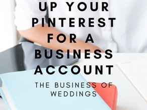 How to maximise your Wedding Blog reach using Pinterest