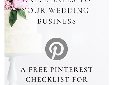 Pinterest for Wedding Pros