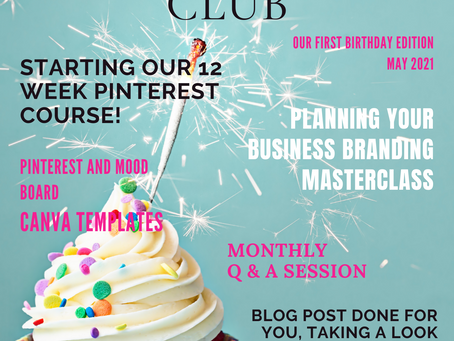 The Business of Weddings Membership is 1 Year Old Today!