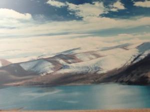 Lake Yom Drok Tsu in Tibet