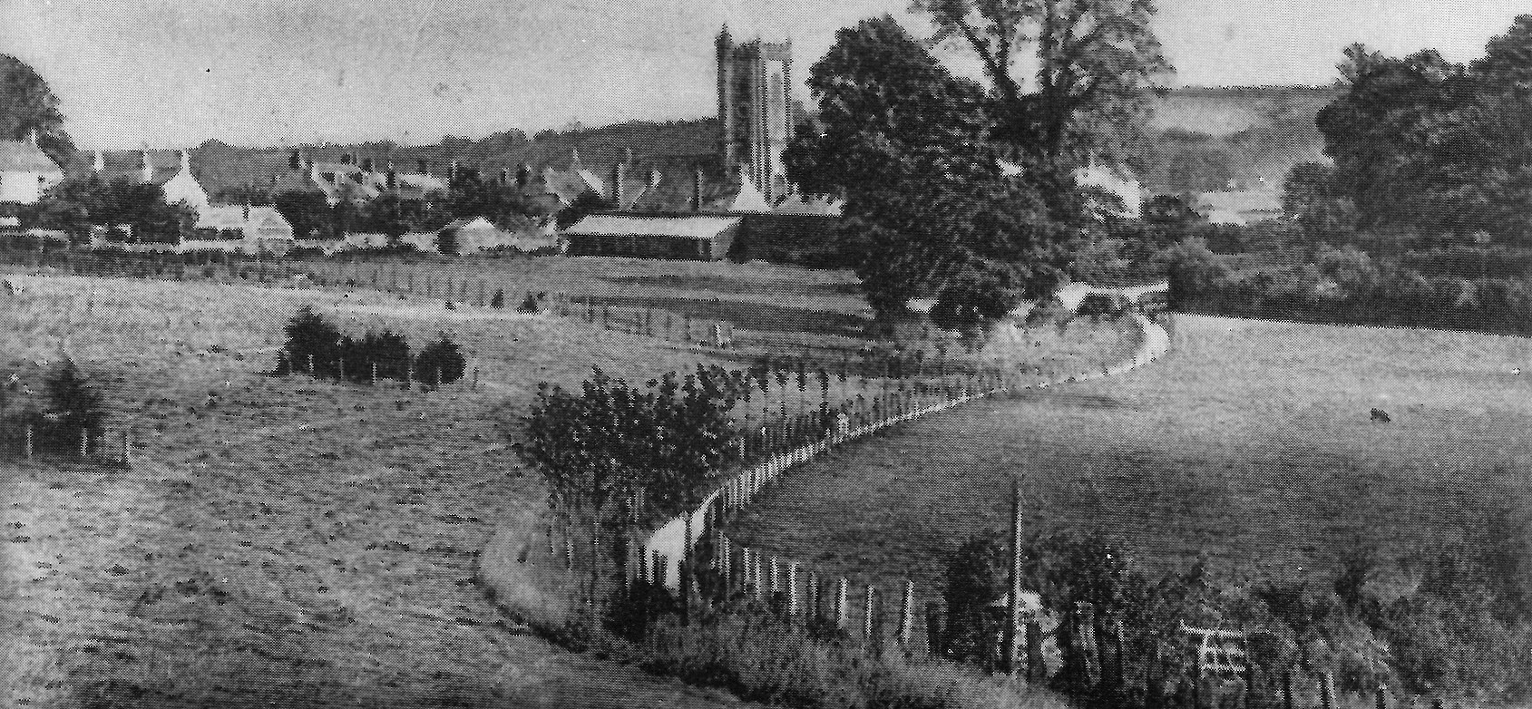 Pathfields before lime trees are established - circa 1897