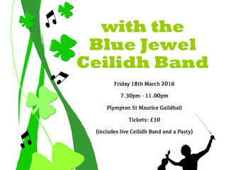 Dance the night away with the Blue Jewel Ceilidh band