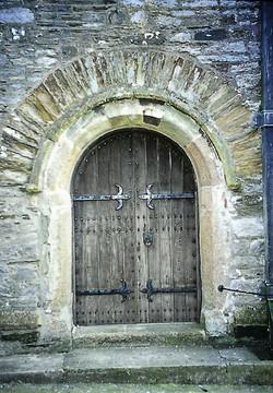 St. Maurice Church - West door