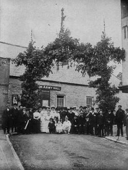 Church Road - Triumphal arch -1902