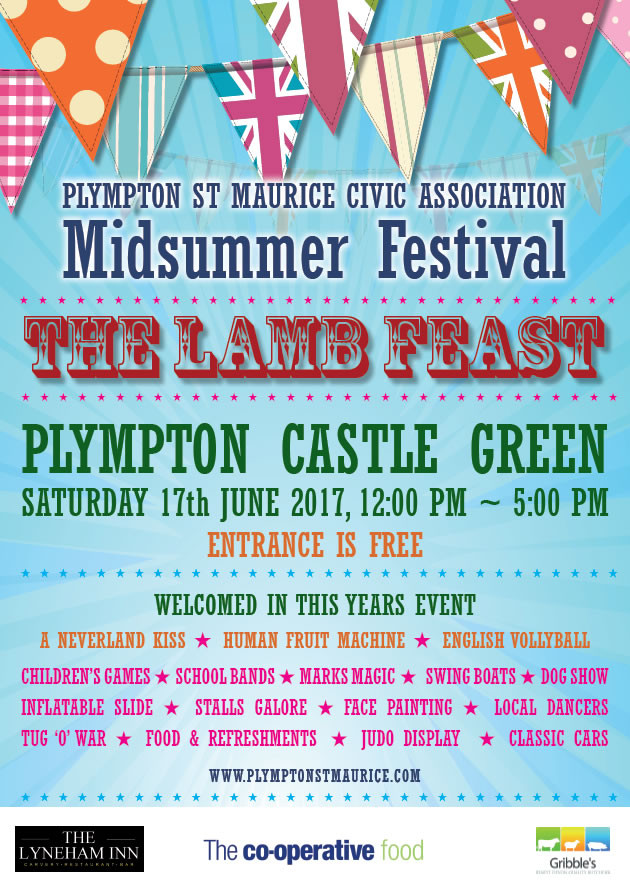 Plympton St Maurice Midsummer Festival - The Lamb Feast