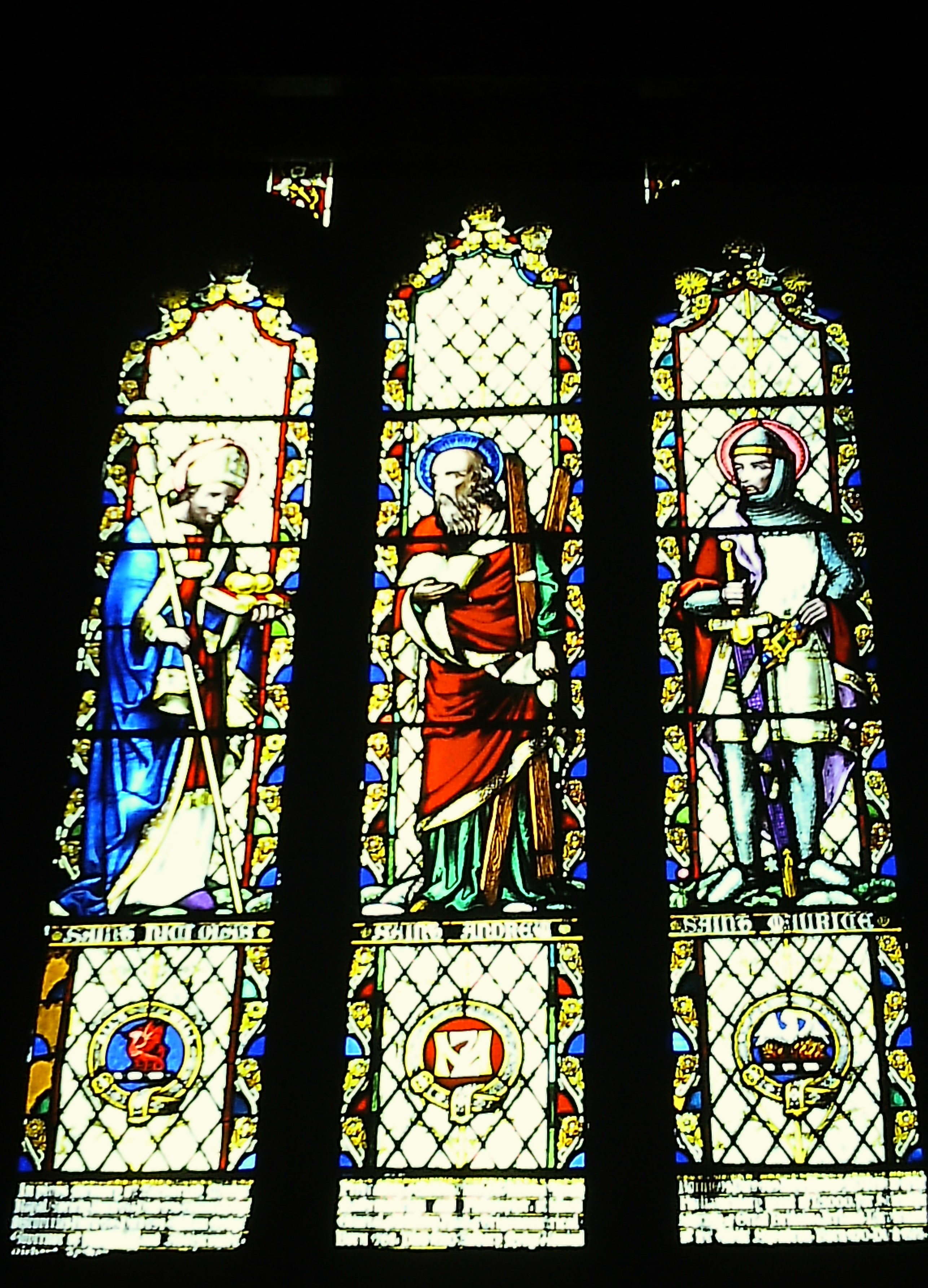 St. Maurice Church - stained glass windows