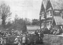 Re-opening of Grammar School in Castle Barbican - 1921