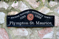 Plympton St Maurice Sign